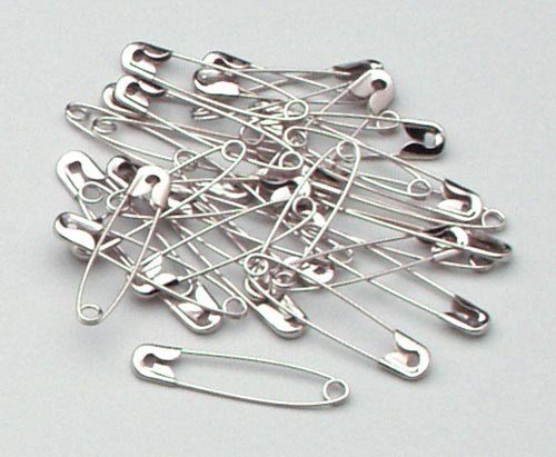 `Safety Pins #2 Bx/1440 by Medical Supply Team