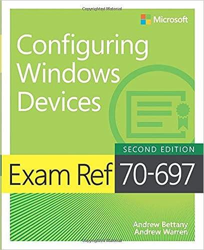 Amazon Exam Ref 70 697 Configuring Windows Devices