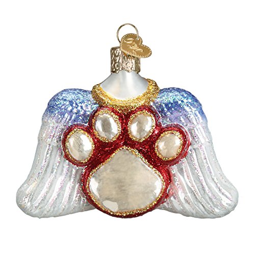Old World Christmas Glass Blown Ornament Beloved Pet Angel Old World Christmas Ornament