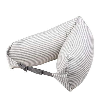 Amazon.com: Almohada de viaje para cuello en forma de U ...