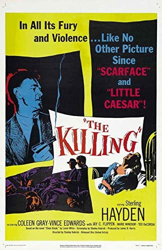 Amazon.com: The Killing POSTER Movie (11 x 17 Inches - 28cm x 44cm) (1956)  (Style D): Posters & Prints