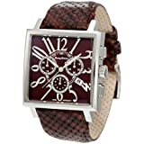 Tommy Bahama Silver Palm Brown Dial Men's Watch #TB1206