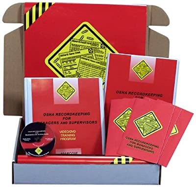 MARCOM OSHA Recordkeeping for Managers and Supervisors DVD Training Kit