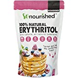 So Nourished Powdered Erythritol Sweetener (1 lb/16 oz) - Perfect for Diabetics and Low Carb Dieters - Confectioners - No Calorie Sweetener, Non-GMO, Natural Sugar Substitute