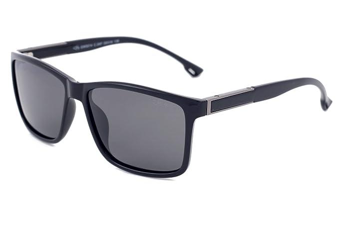 Gafas de sol polarizadas para conducción de lobo gris, lentes de color gris claro,