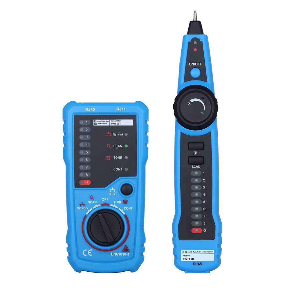 Network Cable Line Tester Anti-interference Line Detector Network Line Telephone Wire Tracker Line Finder xuanL