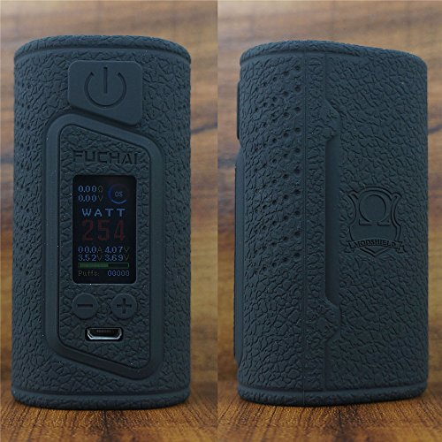 ModShield for Sigelei Fuchai Duo 3 175W & Duo-3 255W TC 2 Cover Version - 2 / 3 Battery Options Silicone Case ByJojo Shield Cover Wrap Skin (Black (Duo Silicone)