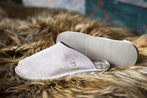 Pelle Casa Ciabatta Estro Snug Beige Pantofola Inverno Invernali Ciabatte Vera Pantofole Uomo qzXZwpz