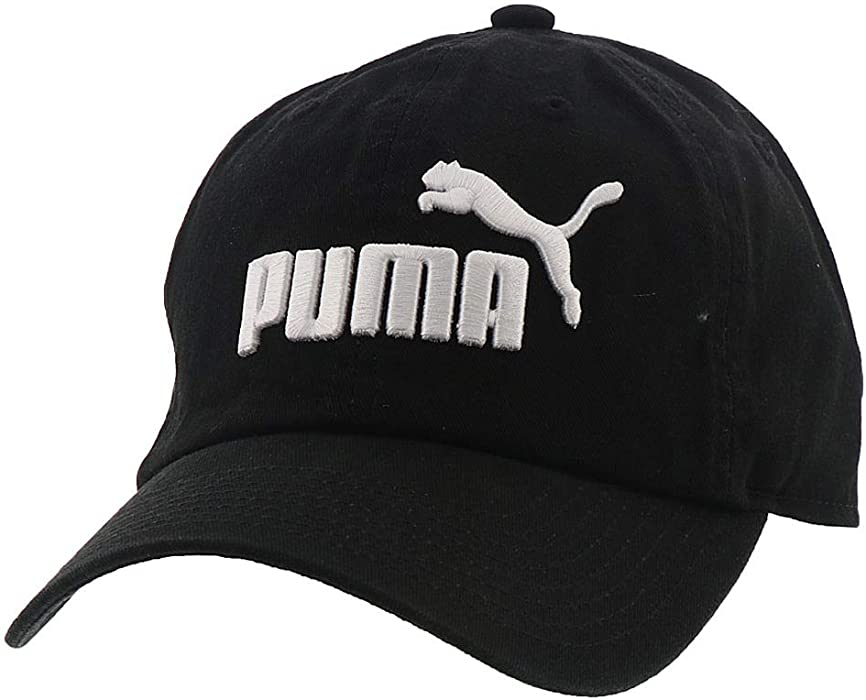 Amazon.com  PUMA Evercat  1 Adjustable Cap Black White  Sports ... 14188ee8ddf