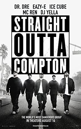 Dre - Dr Eazy-E Straight Outta Compton Movie Poster 24x36 Ice Cube v2