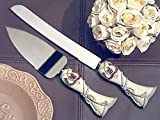Lucky in love Western theme collection wedding cake and knife set From FavorOnline