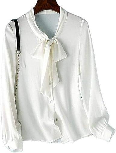 Señoras Blusa de Seda, Camisas de Seda del Nuevo pequeño ...