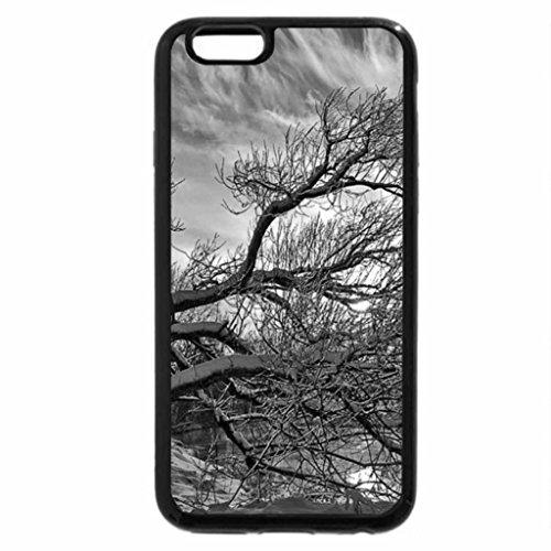 iPhone 6S Plus Case, iPhone 6 Plus Case (Black & White) - River Reflections