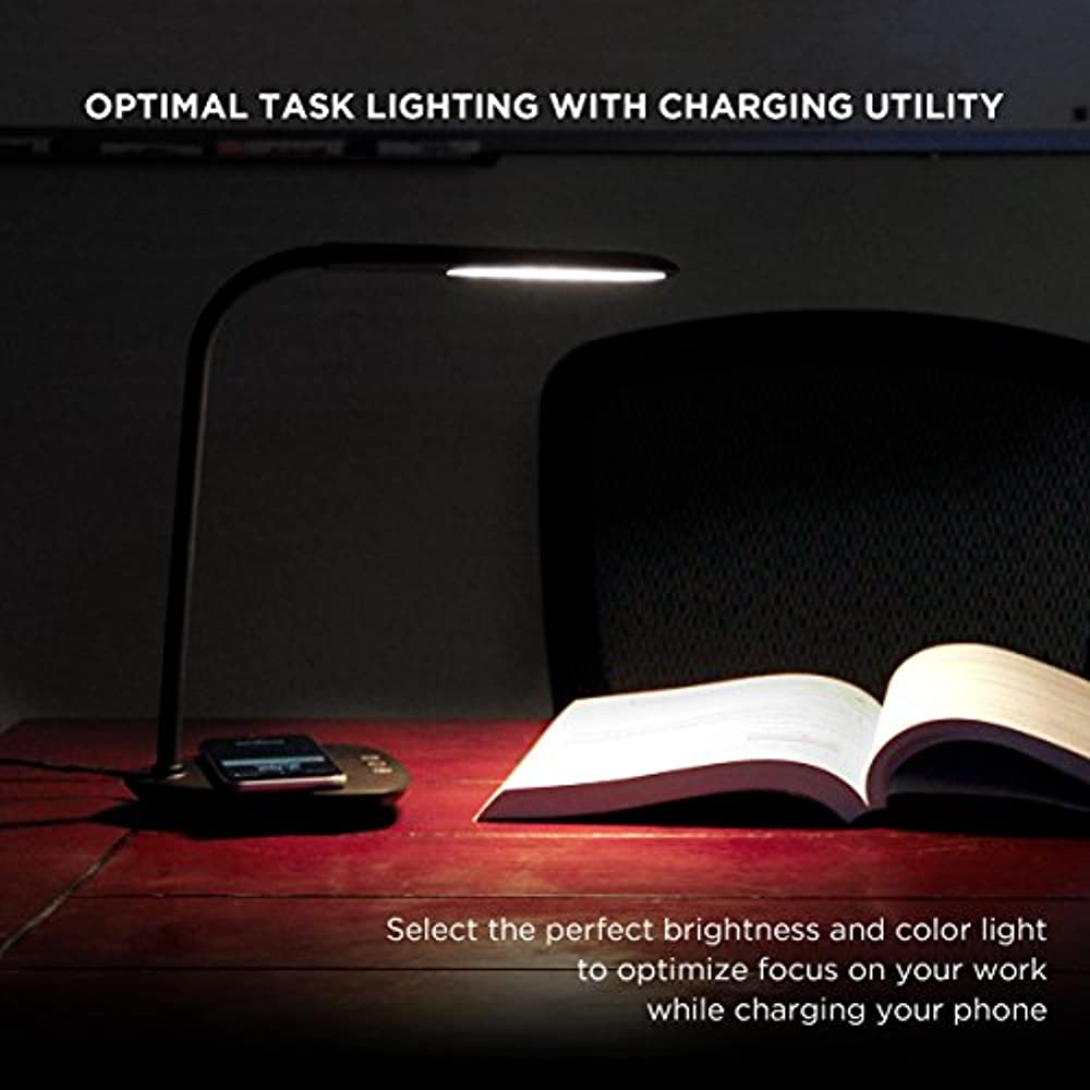Revive Desk Lamps Led With Wireless Charging Pad Dimmable