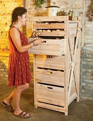 Deep Drawer Harvest Storage Rack