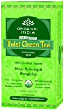 Organic India Tulsi Green Tea 25 Tea Bags – By Pack Of 3 Review