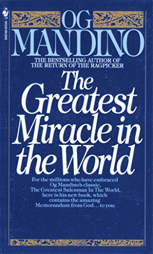 Books : The Greatest Miracle in the World