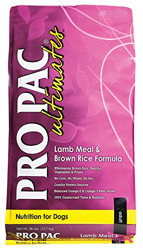 Midwestern PRO PAC Ultimates Dry Dog Food, 28 Pound, Lamb & Brown Rice