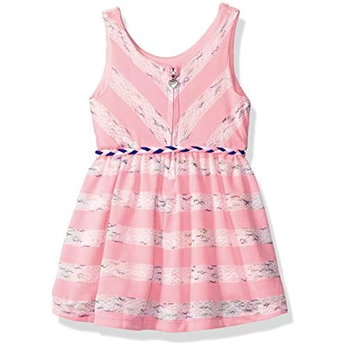 21fda1fd933a kensie Baby Girls  Sleeveless Fashion Stripe Knit Dress ...