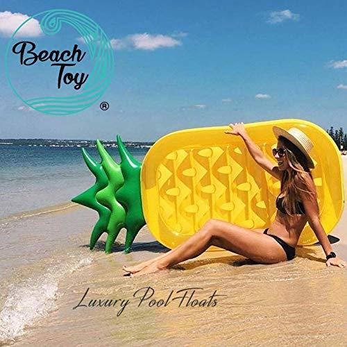 beachtoy colchón hinchable (piña piscina/Playa 180 cm x 90 ...