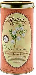 Heather\'s Tummy Fiber CAN Organic Acacia Senegal (16 oz) for IBS
