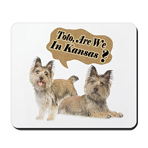 - CafePress - Cairn - Toto Dog Mousepad - Non-slip Rubber Mousepad, Gaming Mouse Pad