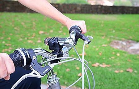 Silver Allen Sports 3W Aluminum Front and Rear Bike Light Set