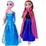 Tinee True Sisters Princess Elsa & Princess Anna With Olaf Ideal Kids Toys For Girls