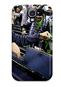 Top Quality Case Cover For Galaxy S4 Case With Nice Seattleeahawksport Appearance