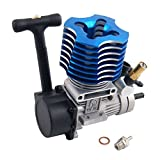 Toyoutdoorparts RC 02060 Blue VX 18 Engine 2.74cc Pull Starter RC HSP 1:10 Nitro Car Buggy EG630