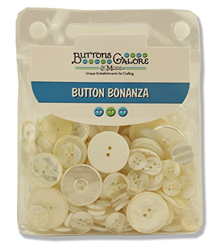 Buttons Galore BB18 Bonanza, Ivory