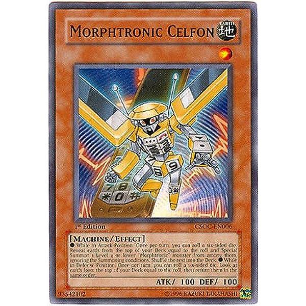 Rare Morphtronic Boomboxen Yugioh CSOC-EN009