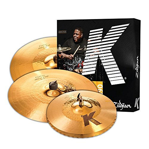 5. Zildjian K Custom Hybrid Cymbal Set