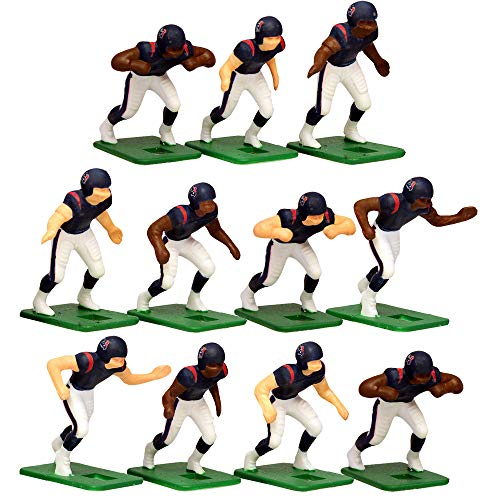 - Houston Texans Home Jersey NFL Action Figure Set
