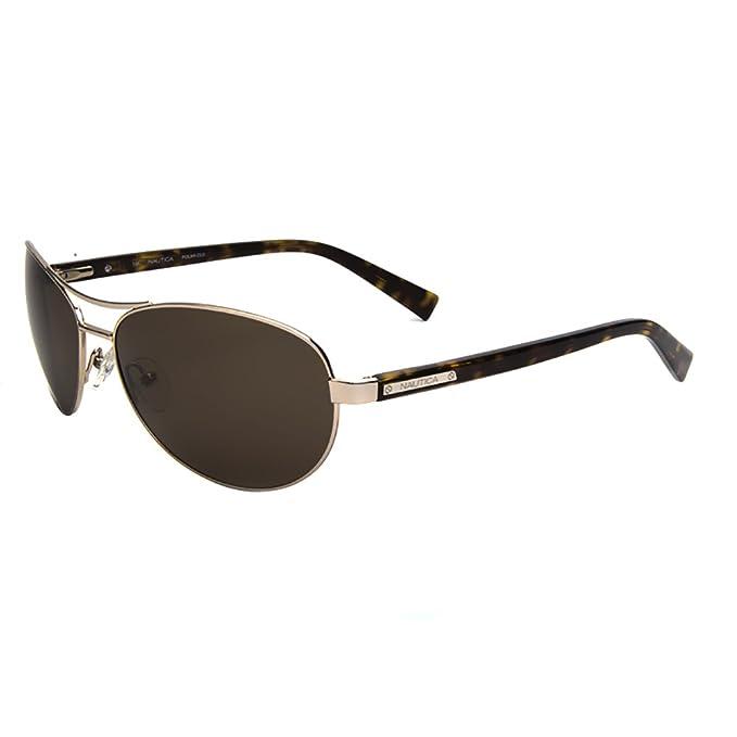 NAUTICA Gafas de sol N5091S 068 Color dorado claro 62MM ...