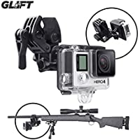 Sportsman Mount Fixing Clip for Gun / Fishing Rod / Bow GoPro Hero 3 & 4 Action Cameras (BLACK)