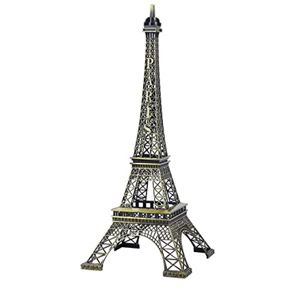 Amazon com: QY-Our Luxury Retro Eiffel Tower Statue,Metal