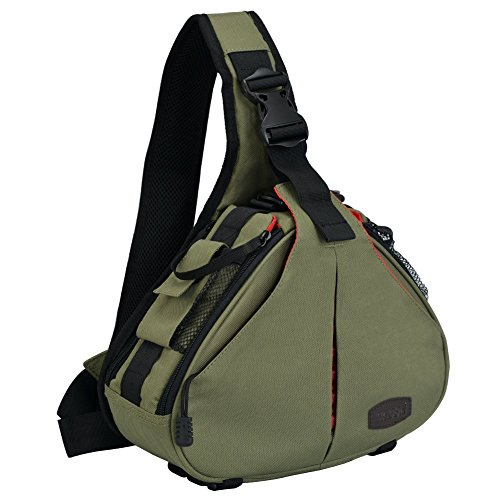 CADeN DSLR Camera Sling Bag Compatible for 1 Camera, 2 Lens,