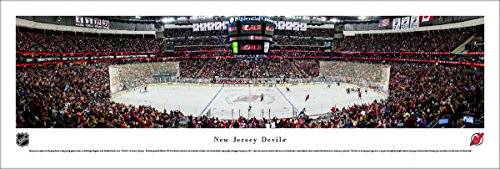 New Jersey Devils - Center Ice - Blakeway Panoramas Unframed NHL Posters Cost Frame Jersey