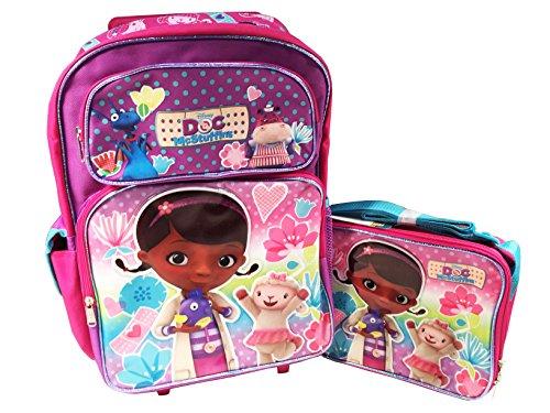 Disney McStuffins Large Rolling Backpack