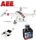AEE Toruk AP10 Quadcopter with Integrated 16MP FPV Camera w/ FREE AEE Technology Action Cam S71 4K 1080P 16MP Slim Body Wi-Fi Waterproof Wireless Action Camera with 2.0-Inch LCD (Black)