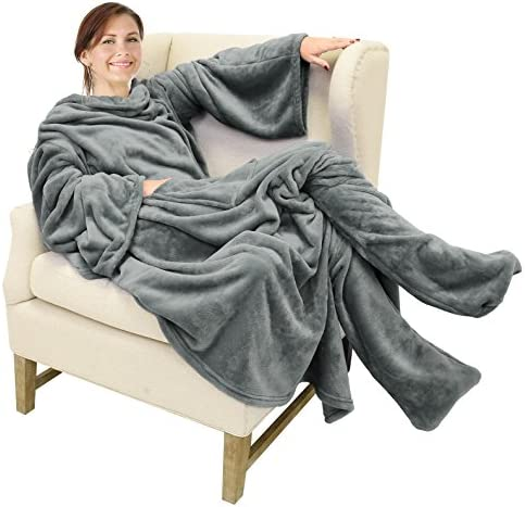 Catalonia Wearable Blanket Sleeves Pockets product image