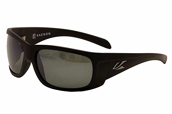 87c00cc7e8b Kaenon Polarized Cliff Sunglasses - Black Label Frame - Gray G12 Black Mirror  Lens