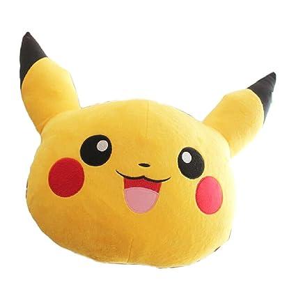 Pokemon Pikachu de dibujos animados cojín/almohada lumbar ...