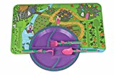 Constructive Eating Garden Fairy Combo with Utensil Set, Plate, and Placemat for Toddlers, Infants, Babies and Kids - Flatware Toys are Made with FDA Approved Materials for Safe and Fun Eating