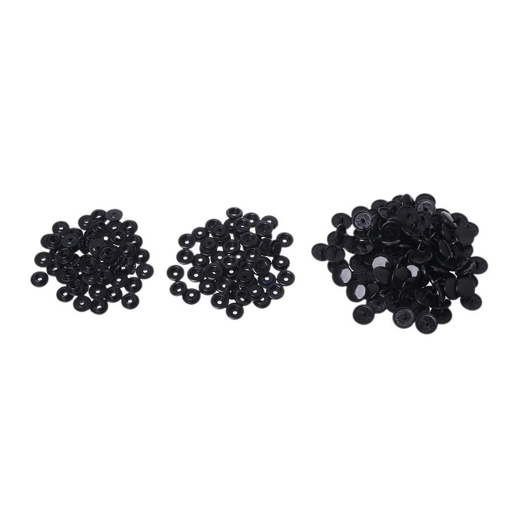 Xuniu 50 Pezzi Abbigliamento Fastener Clip di plastica Snap Popper Craft Fai da Te