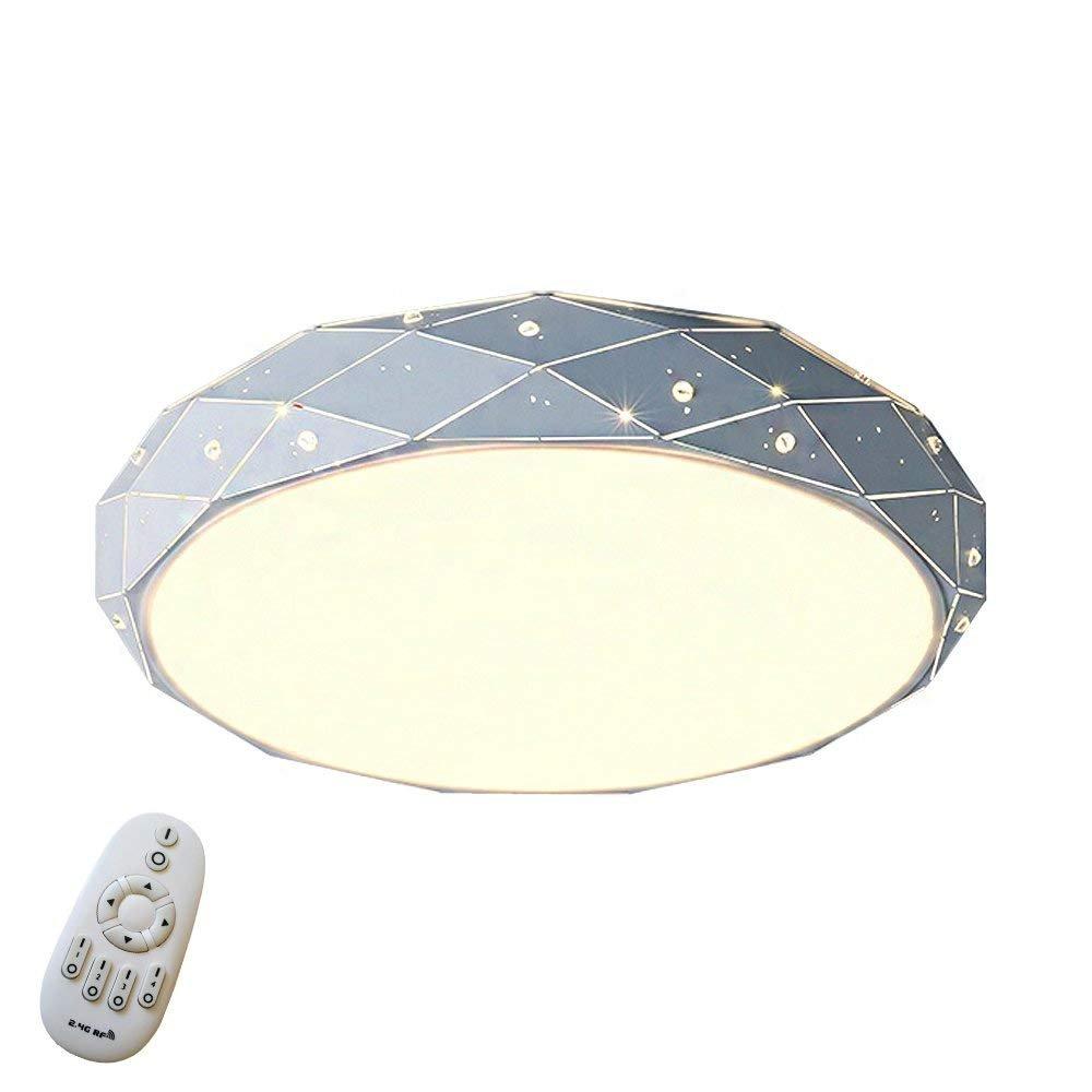 MyLjp Deckenleuchte ,Dimmbar Sternenlicht Deckenleuchten Starlight Rhombus Design LED Deckenleuchte Sternen Modern Lampe Kreative Deckenleuchte Wohnzimmer Deckenbeleuchtung