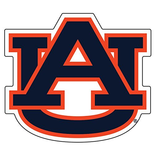 Auburn Tigers, Orange / Blue AU Extra Large Vinyl Decal, Cornhole ()