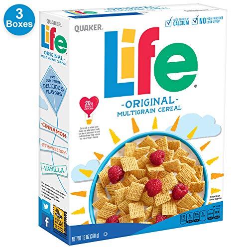 Life Breakfast Cereal, Original, 13oz Boxes (3 - Original Breakfast