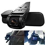 AutoLover A118C-B40C 1.5 inch H.264 1080P Full HD High Resolution Car DVR Dash Cam Video Recorder 170 Degree Wide Angle Lens Support AV Out with Hidden Mode